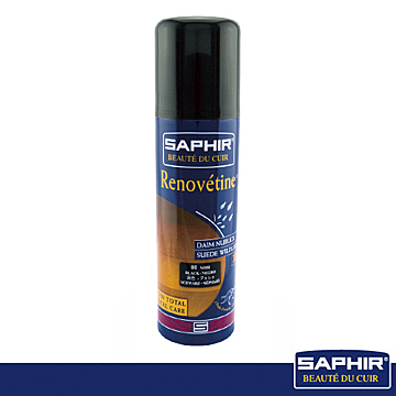【SAPHIR莎菲爾】麂皮染色噴霧-麂皮染色diy   麂皮專用補色劑   麂皮褪色補救