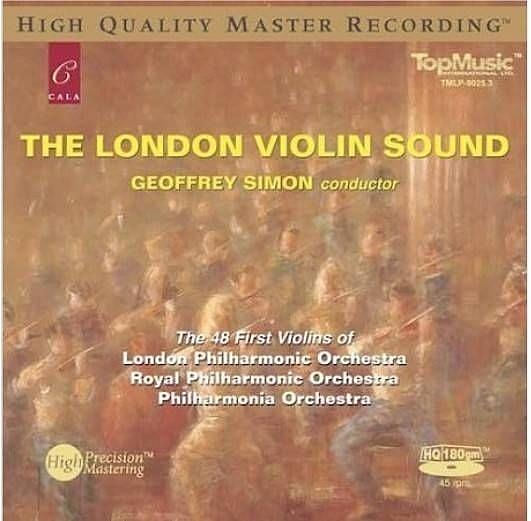 【停看聽音響唱片】【黑膠LP】倫敦48把小提琴之聲 (180克45轉LP)
