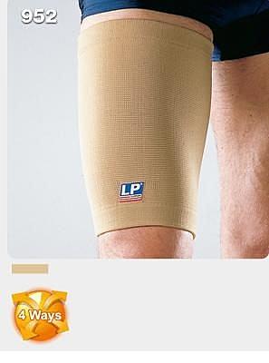 【宏海護具專家】 護具 護大腿 LP 952 大腿保健型護套 (1個裝) 【運動防護 運動護具】