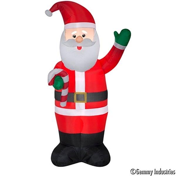 7尺老公拿糖果杖,聖誕/聖誕佈置/充氣擺飾好收納/聖誕充氣,節慶王【X007945】