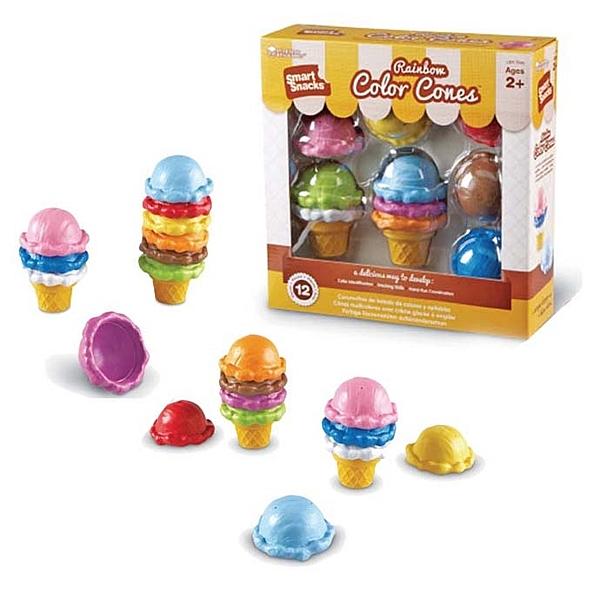 【華森葳兒童教玩具】扮演角系列-彩色冰淇淋 N1-7349