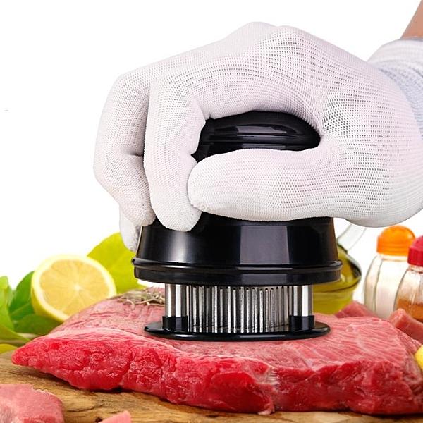 不銹鋼鬆肉針敲肉錘圓形嫩肉器斷筋刀牛排56砸肉器嫩肉寶