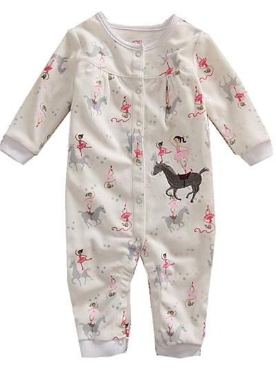 貝比幸福小舖【04111-B】長袖兔裝連身衣大集合250多款-款式6081