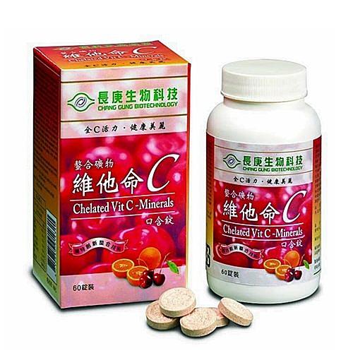 【長庚生技】螯合礦物 - 維他命C x1瓶(60顆/瓶)