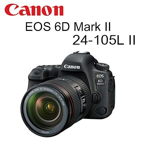 [EYEDC] Canon EOS 6D Mark II 24-105mm L II 公司貨 (一次付清)