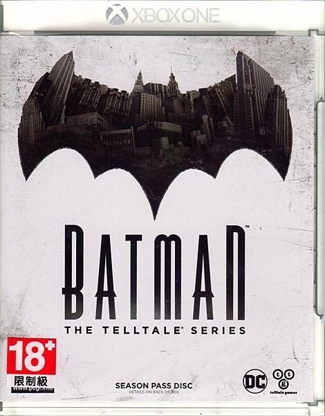 現貨中 XBOXONE 遊戲 蝙蝠俠 秘密系譜 Batman The Telltale Series 中文亞版【玩樂小熊】