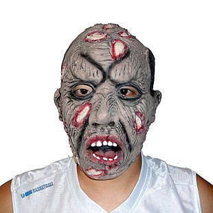 萬聖節  傷疤爛臉面具142g