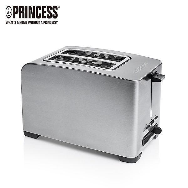 ◆荷蘭公主◆ 142356 ◆Princess◆【烤厚片、薄片、麵包、培果都適合】不鏽鋼多功能厚片烤麵包機
