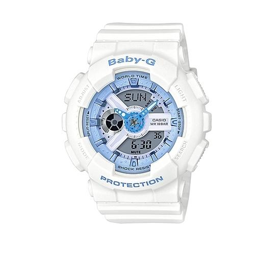 CASIO BABY-G/潮流尖端雙顯運動腕錶/BA-110BE-7ADR