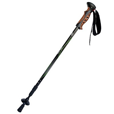 登山杖-摺疊好拿碳纖維超輕伸縮安全碳素拐杖2色71c50【時尚巴黎】