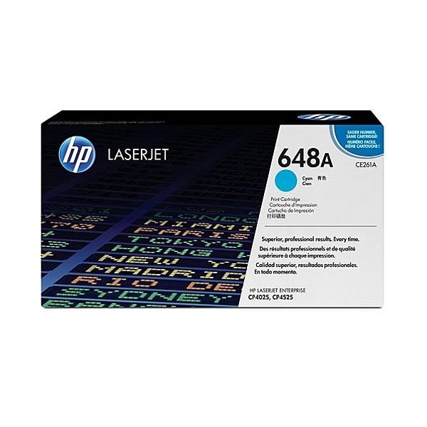 HP 原廠藍色碳粉匣 CE261A 適用CLJ-CP4025/CP4525