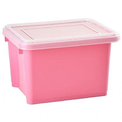 [ 家事達 ] 樹德  萬用置物箱HA-2328K (加蓋)  x6入    特價  收納箱/整理箱