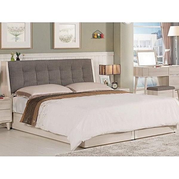 床架 MK-581-2 愛莎5尺被櫥式雙人床 (床頭+床底)(不含床墊) 【大眾家居舘】