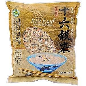 【綠源寶】十六穀米1800g  超商限2包