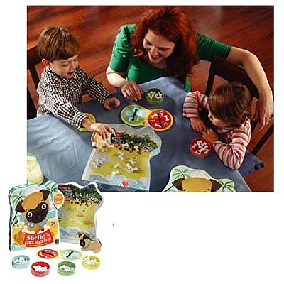 【華森葳兒童教玩具】益智邏輯系列-謝爾比骨頭 N1-EI-3408