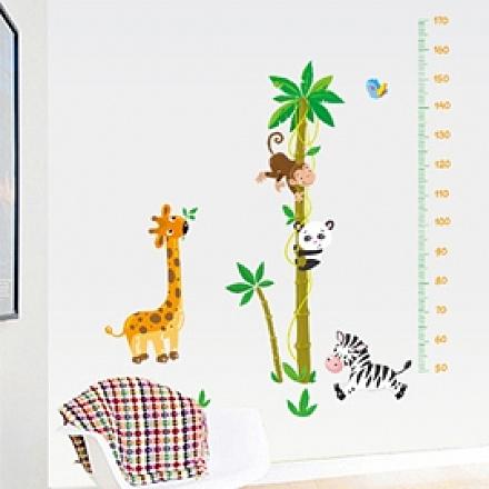 壁貼 DIY創意無痕 牆貼 貼紙【半島良品】-快樂王國_AY9180