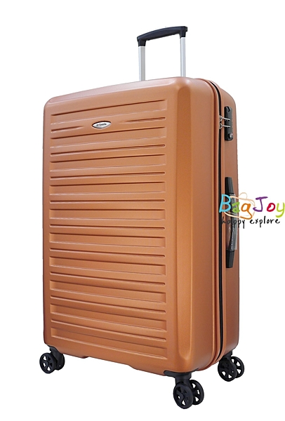 萬國通路 EMINENT PROBEETLE 28吋 輕量 100%PC 防刮 旅行箱 行李箱 KG89 棕紅色 橘色