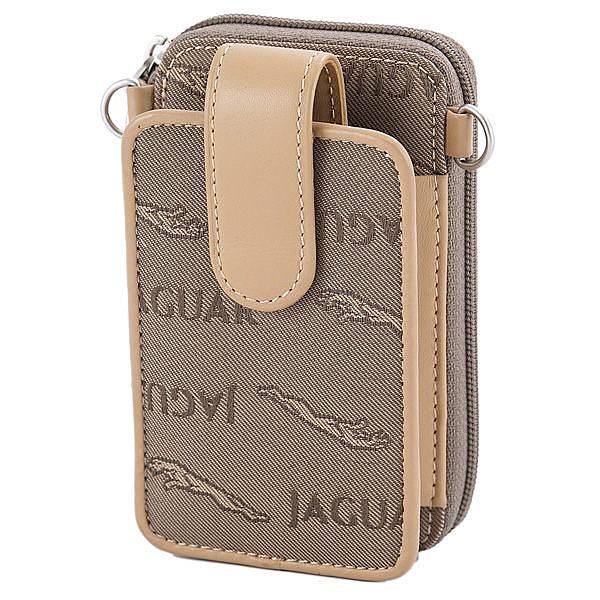 JAGUAR 英式風情緹花鑰匙手機袋