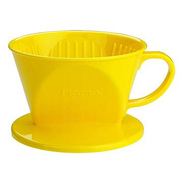 金時代書香咖啡  Tiamo 101 AS咖啡濾器 1-2杯份 黃色  HG5280