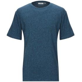 《セール開催中》MINIMUM メンズ T シャツ ブルー S コットン 100%