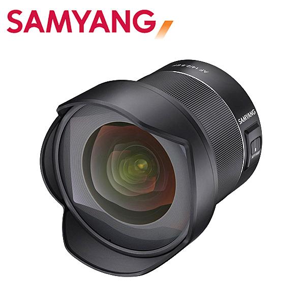◎相機專家◎ SAMYANG AF 14mm F2.8 for Canon EF 全片幅 自動對焦 超廣角 正成公司貨 保固一年