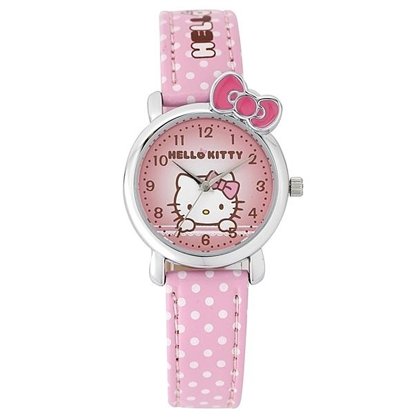 HELLO KITTY 凱蒂貓兒童錶 KT012LWPP-1 免運/27mm