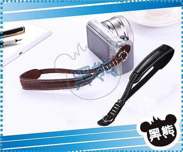 黑熊館 皮革相手腕帶 手繩 吊繩 手腕繩 Sony A6000A7RA7K A5100NEX-5T A3000
