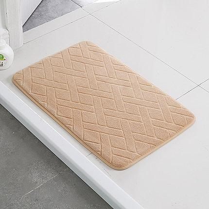 衛生間吸水地墊廚房腳墊衛浴室防滑墊子家用門口進門門墊臥室地毯