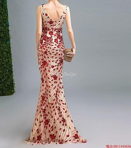 (45 Design)    7天到貨 客製化顏色大尺碼訂做訂做 日韓婚紗長禮服 高級訂製小禮服 大尺碼75