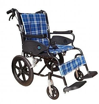 富士康 機械式輪椅 (未滅菌)  (鋁製輪椅-安舒351)