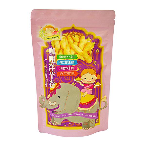 咖哩洋芋卷(純素)50g【德芳保健藥妝】
