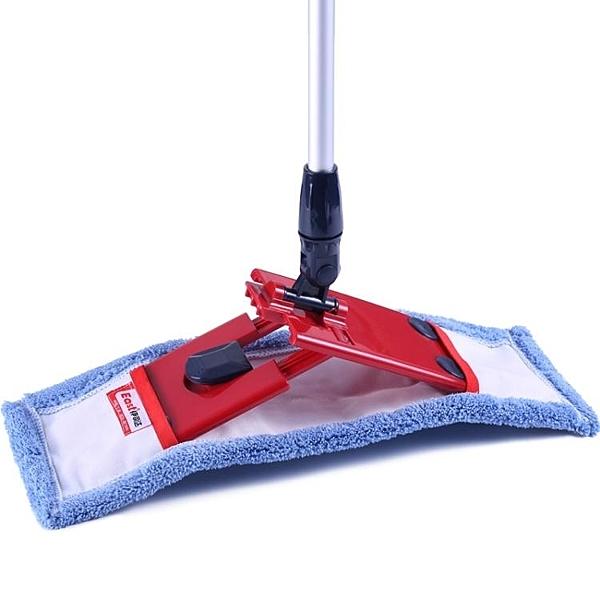 拖把 平板拖把家用木地板旋轉托把懶人墩布干濕兩用瓷磚布套拖布