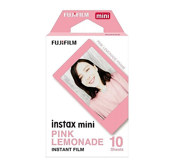 FUJIFILM Instax Mini 拍立得底片 粉色 粉邊 底片