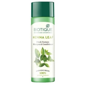 Biotique Bio Henna Leaf Fresh Texture Shampoo & Conditioner 190 ml 100% Natural Biotique Bio Henna Leafフレッシュテクスチャーシャンプー&コンディショナー100%ナチュラル