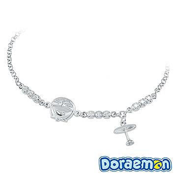 哆啦a夢Doraemon-夢想高飛-銀飾手鍊