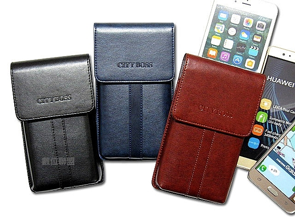 CITY BOSS 直立式 手機腰掛皮套 SONY Xperia XZ3 /XA2 Plus /XZ2 Premium /XZ2 腰掛式皮套 BWE7