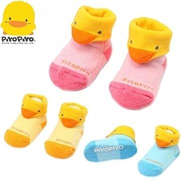 黃色小鴨 造型毛巾襪(顏色隨機出貨)【德芳保健藥妝】售完為止