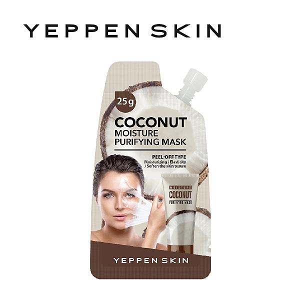 【YEPPEN SKIN】椰子保濕彈性面膜-撕拉式-F003(25g)