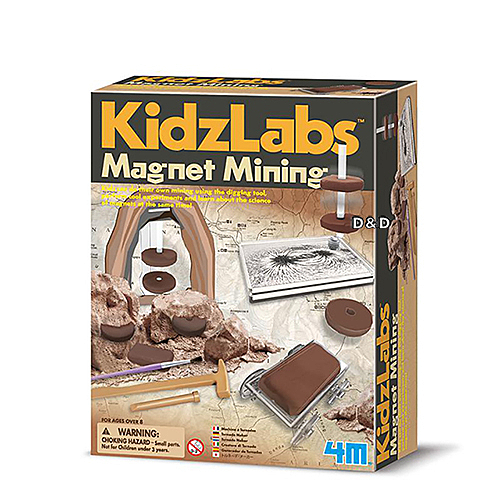 《4M科學探索》磁力採礦家 Magnet Mining╭★ JOYBUS玩具百貨