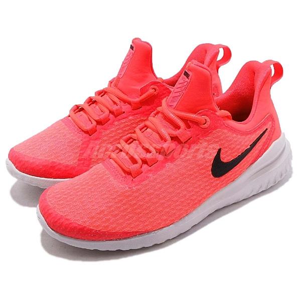 Nike 慢跑鞋 Wmns Renew Rival 橘 黑 女鞋 舒適緩震 運動鞋【ACS】 AA7411-602