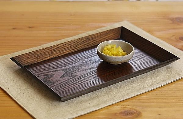 【協貿國際】日式木質托盤點心盤水果盤