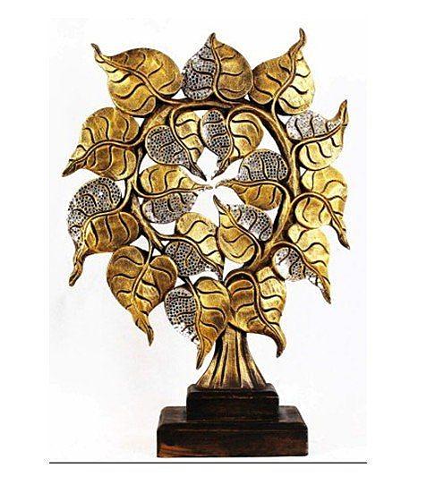 泰式風情 擺件 工藝品 菩提葉 雕花