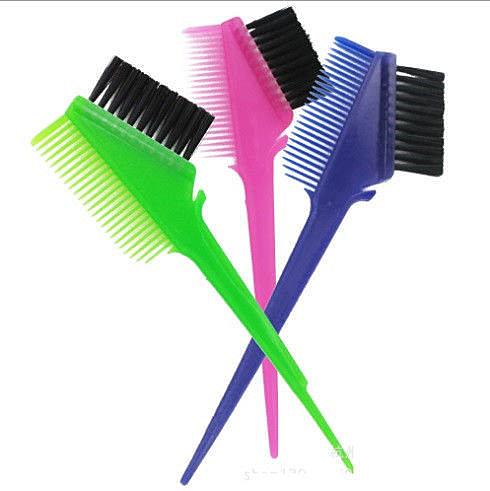 (現貨特價)果凍 染刷 精製染梳 染髮專用 必備 雙面染梳 染刷 染梳 另有 染膏 染碗 染髮劑 噴彩