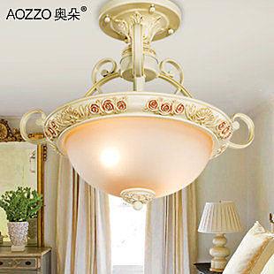 歐式吸頂燈 臥室燈具餐廳燈