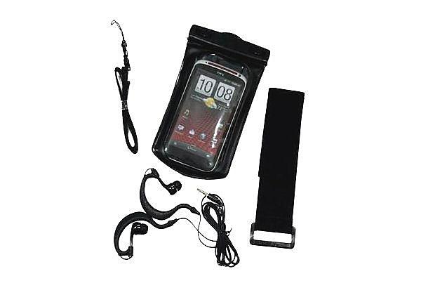 HTC Sensation XE防水袋 附送防水耳機 防水運動臂套 內建3.5mm耳機孔 HTC Sensation XE防水套