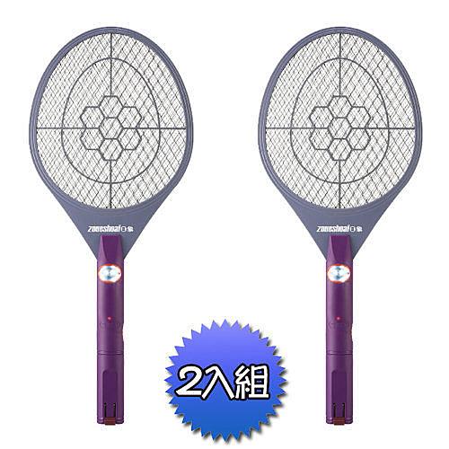 ★日象★充電特大型電蚊拍(2入)  ZOM-3100