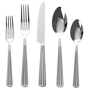 HOLA 貝洛線10件不鏽鋼餐具組