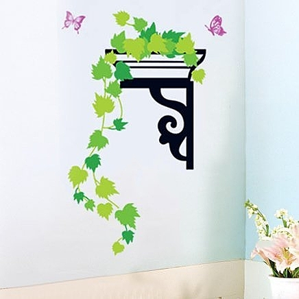 創意可移動壁貼 壁貼 磁磚貼 時尚組合壁貼 居家裝潢裝飾 垂綠TC991【YV0645】BO雜貨