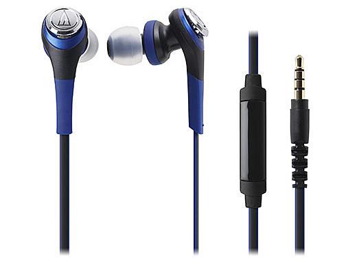 【台中平價鋪】全新 鐵三角 ATH-CKS550iS 藍色 可通話重低音 智慧型手機  台灣鐵三角公司貨