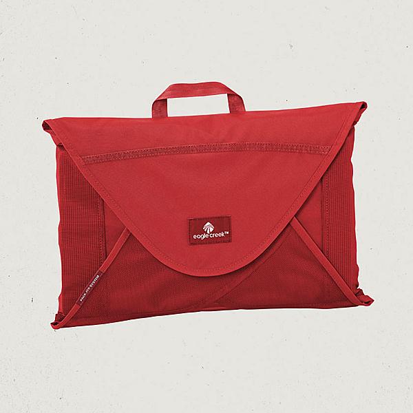 【Eagle Creek美國人氣旅遊配件】7件襯衫打理袋(S) (紅)